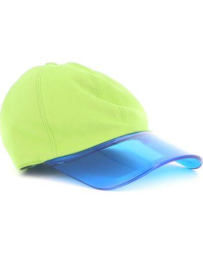 Zielona czapka z daszkiem Borsalino