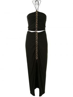 Облегающее платье миди - черное Dion Lee