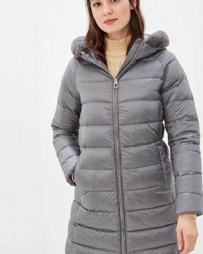 Зимняя куртка осенняя серая Geox