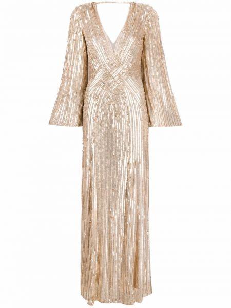 Платье с вырезом Jenny Packham