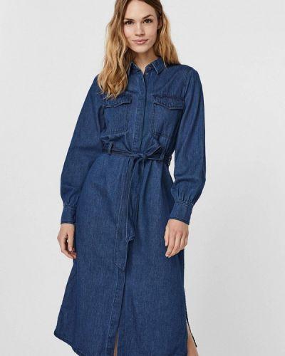 Джинсовое платье - синее Vero Moda