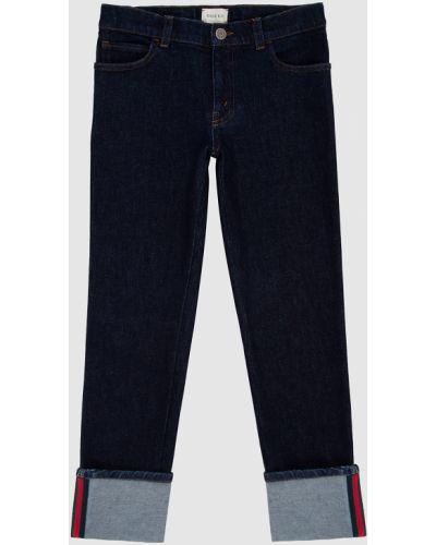 Синие джинсы Gucci