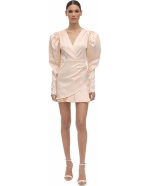 Платье макси длинное - розовое Rotate