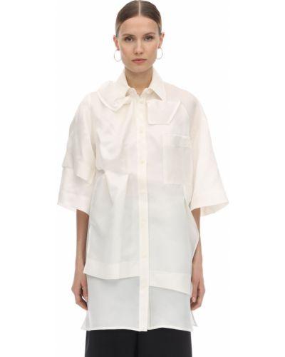 Классическая рубашка с карманами Nina Ricci
