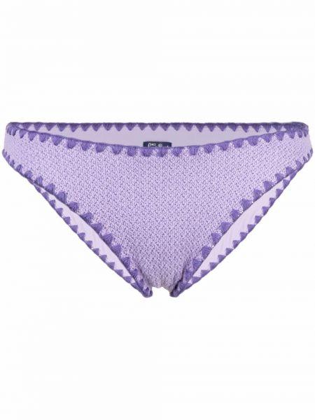 Фиолетовый бикини Mc2 Saint Barth