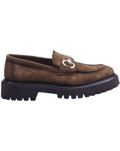 Loafers - brązowe Calce