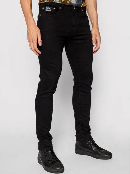 Mom jeans - czarne Versace Jeans Couture
