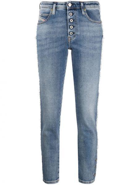 Jeansy chłopaki niska niebieskie Diesel