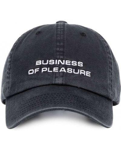 Czarny baseball bawełna bawełna czapka Misbhv