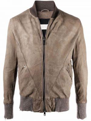 Brązowa kurtka bawełniana Giorgio Brato