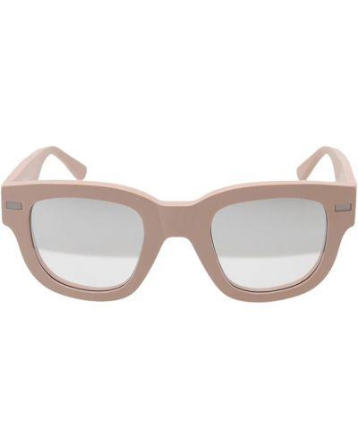 Brązowe okulary Acne Studios