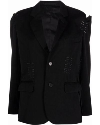 Длинная куртка - черная Comme Des Garçons Noir Kei Ninomiya