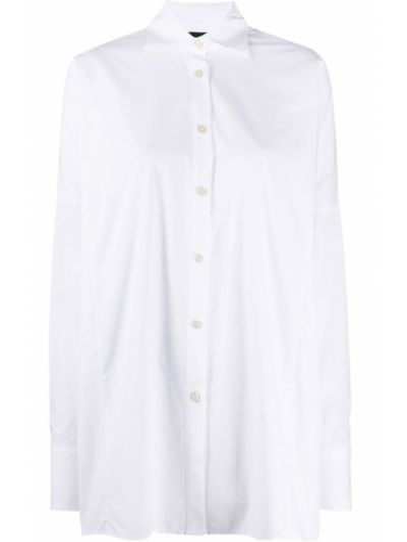 Белая прямая классическая рубашка с воротником на пуговицах Jejia
