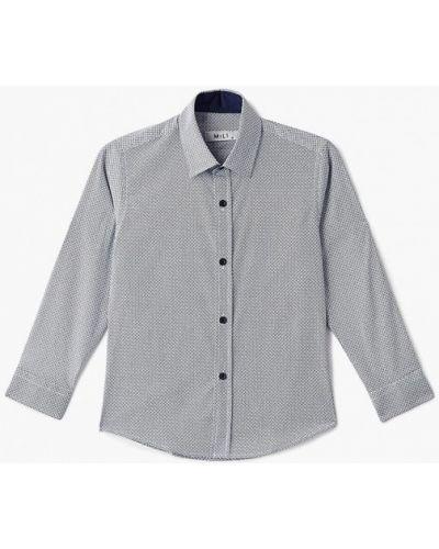 Рубашка турецкий синий Mili