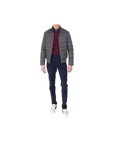 Серая куртка из полиамида Harmont&blaine