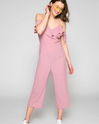 Розовый комбинезон свободный Answear