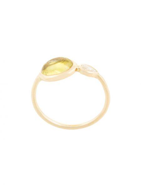Pierścień ze złota z diamentem Myrto Anastasopoulou