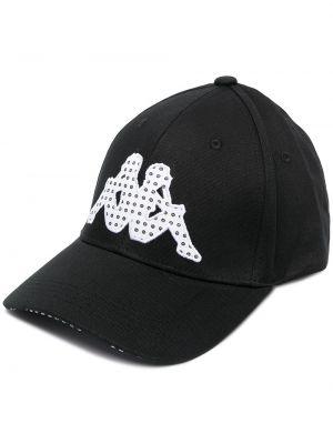Хлопковая кепка - черная Kappa