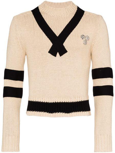 Czarny sweter bawełniany Linder