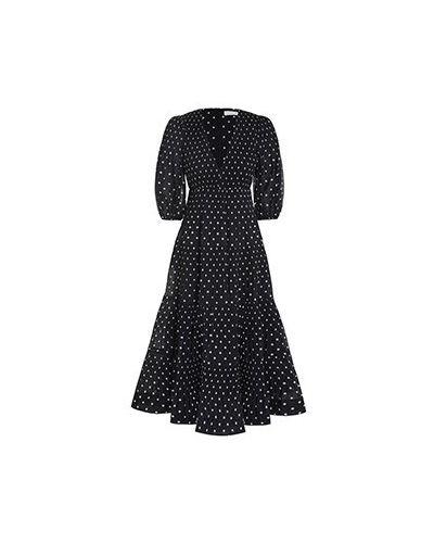 Черное платье Zimmermann