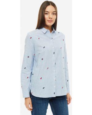 Рубашка в полоску с вышивкой S.oliver