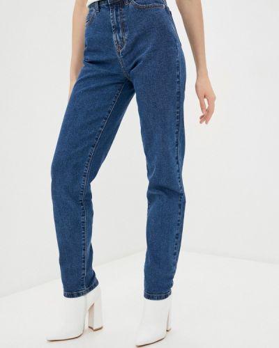 Прямые синие джинсы Zarina