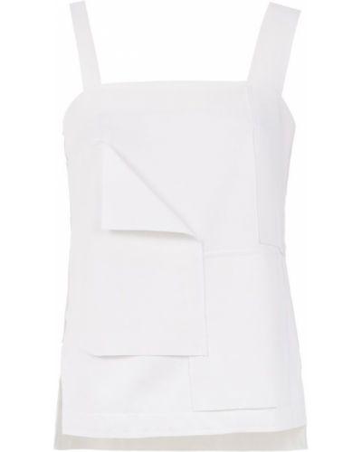 Блузка без рукавов - белая Mara Mac