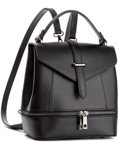 Sport plecak skórzany czarny Creole