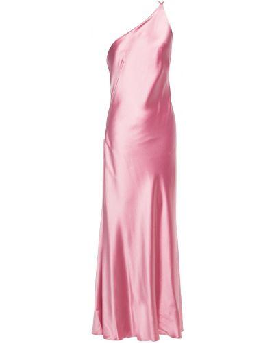 Платье макси атласное Galvan  London