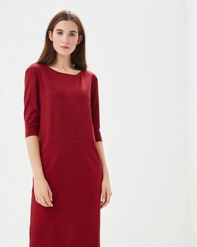 Платье бордовый красный Olga Skazkina