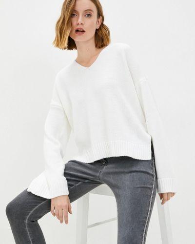 Пуловер - белый Leotex