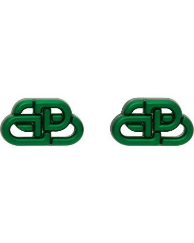 Серьги - зеленые Balenciaga