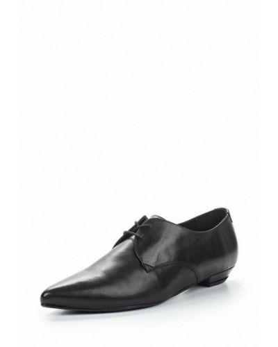 Черные кожаные ботинки Marc O'polo