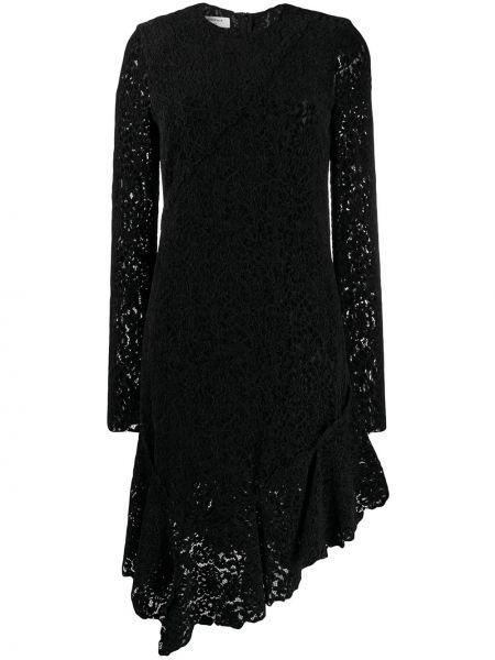 Платье с вырезом с длинными рукавами Philosophy Di Lorenzo Serafini
