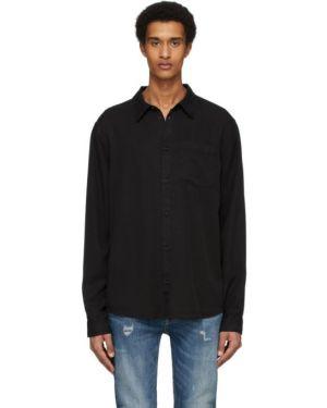 Koszula z długim rękawem dżinsowa długa Nudie Jeans