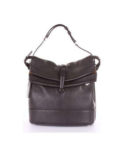 Czarna torba na ramię Agnona