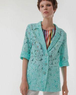 Пиджак - бирюзовый Jn