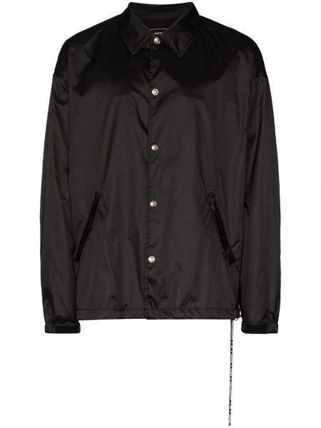 Рубашка с длинным рукавом с карманами на кнопках Mastermind Japan