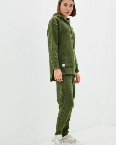 Вязаный костюм - зеленый Vladi Collection