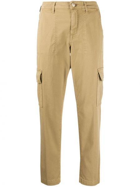 Укороченные брюки с завышенной талией с карманами Jacob Cohen