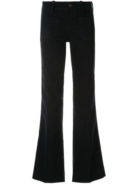 Свободные брюки с накладными карманами расклешенные Victoria, Victoria Beckham