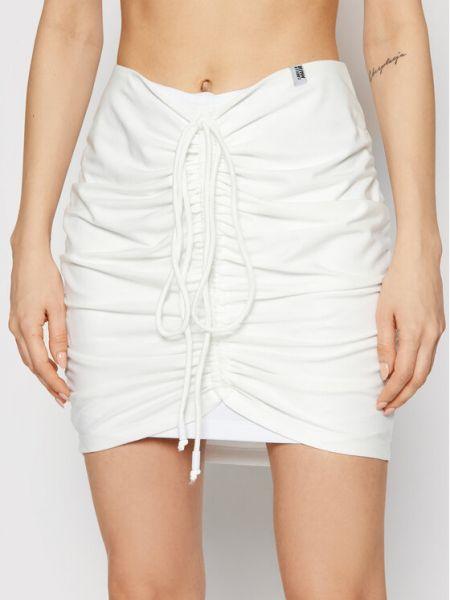 Biała spódniczka mini Labellamafia