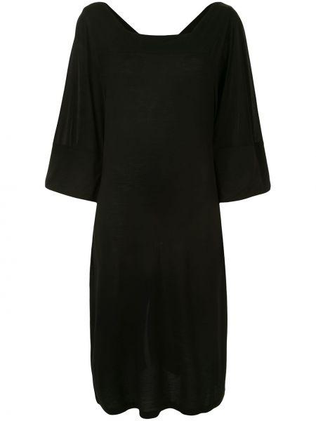 Платье черное платье-солнце Henrik Vibskov