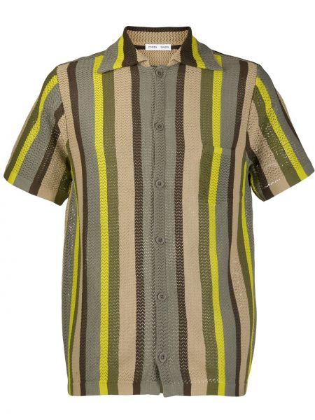 Свободная рубашка с короткими рукавами на пуговицах Cmmn Swdn
