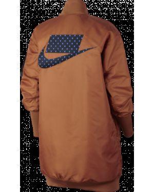 Brązowa sport kamizelka Nike