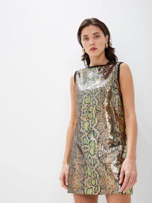 Вечернее платье - золотое N21