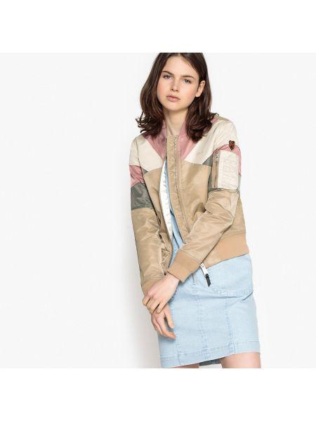 Куртка укороченная с воротником стойкой Schott