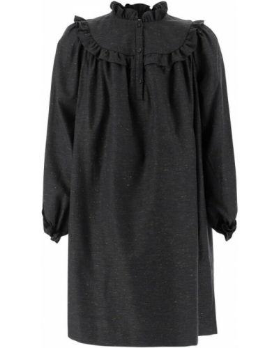 Szara sukienka Bonpoint
