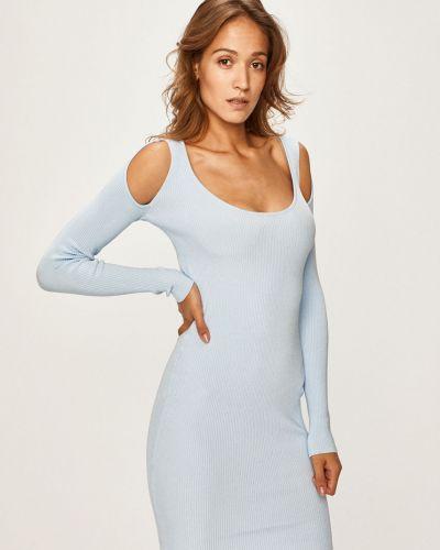 Трикотажное платье - голубое Marciano Guess