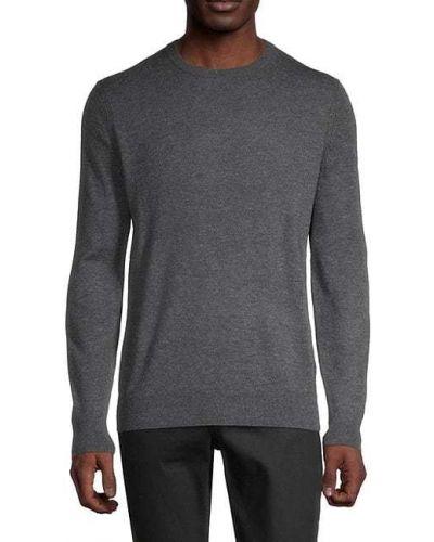 Шерстяной длинный свитер с длинными рукавами Theory